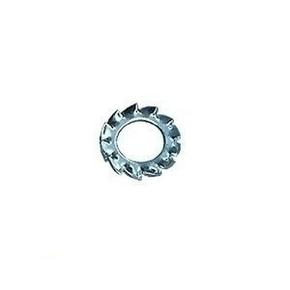 Rondelle dentelée acier bruni diam.5mm en sachet de 147 pièces - Gedimat.fr
