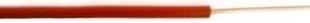 Câble électrique unifilaire cuivre H07VU section 2,5mm² coloris rouge en bobine de 25m - Gedimat.fr