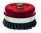 Brosse métallique forme soucoupe mèche acier torsade diam 80 m14 fil0.50 vrac - Gedimat.fr