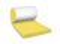 Laine de verre en panneau roulé FACADE 38R revêtue voile de verre 1 face ép.75mm larg.60cm long.10,00m - Gedimat.fr