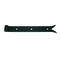 Penture droite queue de carpe en acier diam.14mm long.50cm cataphorèse noir - Gedimat.fr