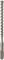 Foret béton SDS tête monobloc carbure MONSTER diam.16mm long.166mm sous clip - Gedimat.fr