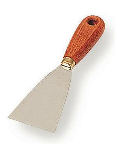 Couteau de peintre lame inox manche bois 6cm - Gedimat.fr