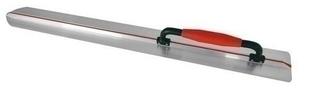 Lisseuse à béton profil aluminium larg.10cm long.1m - Gedimat.fr