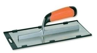Platoir lame inox monture aluminium larg.12cm long.28cm - Gedimat.fr