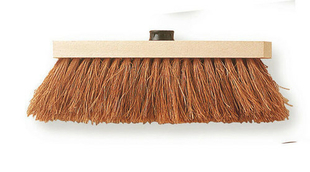 Balai fibres coco avec douille - 29cm - Gedimat.fr
