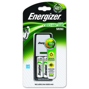 CHARGEUR POUR 2AA/AAA + 2AA 2000MAH ENERGIZER - Gedimat.fr