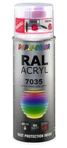 Bombe de peinture RAL 7035 Gris clair - Brillant Duplicolor - Gedimat.fr