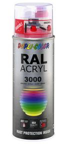 Bombe de peinture RAL 3000 Rouge feu - Brillant Duplicolor - Gedimat.fr