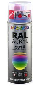 Bombe de peinture RAL 5010 Bleu gentiane - Brillant Duplicolor - Gedimat.fr