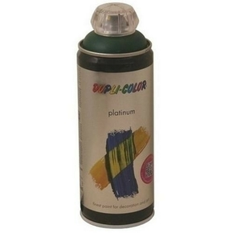 Bombe aérosol peinture PLATINIUM aspect satiné 400ml coloris vert mousse - Gedimat.fr