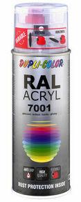 Bombe de peinture RAL 7001 Gris argent - Brillant Duplicolor - Gedimat.fr