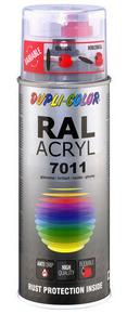 Bombe de peinture RAL 7011 Gris fer - Brillant Duplicolor - Gedimat.fr