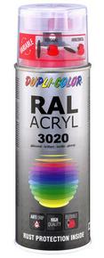 Bombe de peinture RAL 3020 Rouge signalisation - Brillant Duplicolor - Gedimat.fr