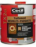Traitement meubles parquets boiseries TX201 pot de 1L incolore - Gedimat.fr