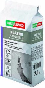 Plâtre pour les travaux courants en intérieur PLATRE A MODELER pot de 2,5kg - Gedimat.fr