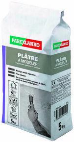 Plâtre pour les travaux courants en intérieur PLATRE A MODELER pot de 5kg - Gedimat.fr