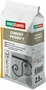 Ciment prompt pour la réalisation de ciment rapide sac de 2,5kg - Gedimat.fr