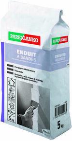 Enduit pour les joints et finitions de plaques de plâtre ENDUIT A BANDES sac de 5kg - Gedimat.fr