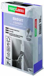 Enduit pour les joints et finitions de plaques de plâtre ENDUIT A BANDES sac de 10kg - Gedimat.fr