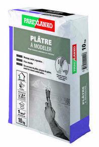 Plâtre pour les travaux courants en intérieur PLATRE A MODELER pot de 10kg - Gedimat.fr