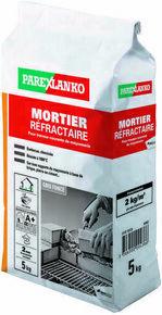 Mortier pour le montage des briques refractaires MORTIER REFRACTAIRE 5kg - Gedimat.fr
