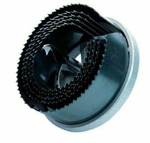 Scie cloche multi lames lame acier pour bois et plâtre long.40mm diam.60/67/74mm lot de 3 pièces - Gedimat.fr