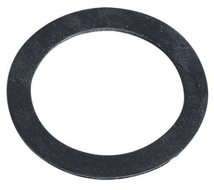 Joint plat de siphon 39x30x2mm noir - Gedimat.fr