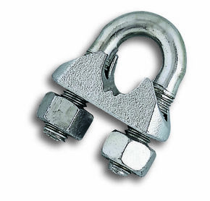 Serre cable etrier diam.6mm - Gedimat.fr