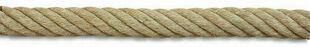 Corde pour rampe d'escalier chanvre coloris naturel beige diam.32mm - Gedimat.fr