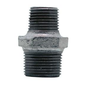 Mamelon réduit acier galvanisé double mâle FG245 diam.20x27mm réduit diam.15x21mm avec lien 1 pièce - Gedimat.fr