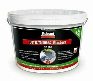 Etanchéïté liquide pour toitures plates et inclinées SP360 RUBSON noir 25kg - Gedimat.fr