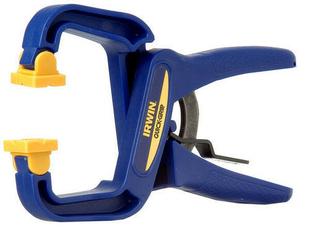 Pince à ressort en résine QUICK GRIP Handi clamps 4 pouces 100mm - Gedimat.fr