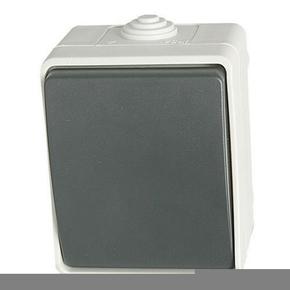 Interrupteur ou va et vient simple série Aquatop étanche 10A blanc - Gedimat.fr