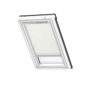 Store télécommandé à énergie solaire pour fenêtre de toit beige DSL 102 - Gedimat.fr