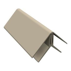 Angle int/ext PVC clipsable pour bardage cellulaire original 45 x 45 mm Long.5 m Sable - Gedimat.fr