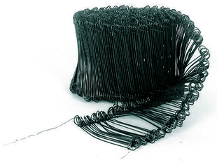 Lien à boucle recuit diam.1,1mm long.120mm 1000 pièces - Gedimat.fr