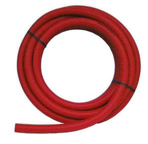 Tube multicouche polyéthylène et aluminium Easypex prégainé diam.16mm en couronne de 25m coloris rouge en vrac 1 pièce - Gedimat.fr