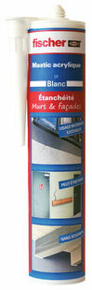 Mastic acrylique DA acajou - cartouche de 310ml - Gedimat.fr