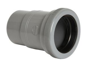 Manchon de dilatation horizontal PVC NICOLL mâle-femelle diam.110mm coloris gris - Gedimat.fr