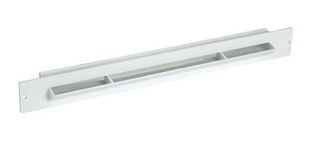 Grille entr e d 39 air auto r glable coloris blanc - Entree d air autoreglable ...