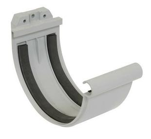 jonction joint pour goutti re pvc de 33 nicoll jn33 coloris gris. Black Bedroom Furniture Sets. Home Design Ideas