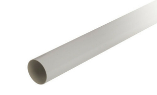 Tube de descente prémanchonné PVC NICOLL pour eaux pluviales diam.80mm long.4m gris - Gedimat.fr