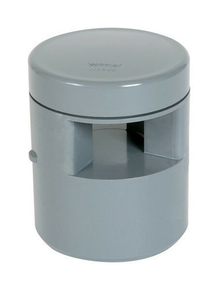 Clapet équilibreur de pression NICOLL diam.110/100mm coloris gris - Gedimat.fr