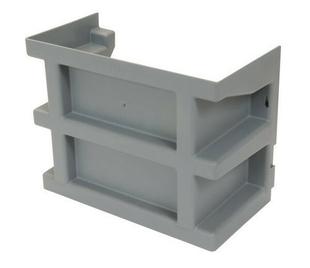 rehausse pour courette anglaise de ventilation nicoll coloris gris clair. Black Bedroom Furniture Sets. Home Design Ideas