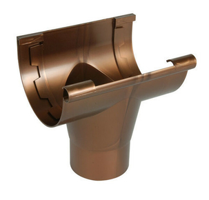 naissance centrale coller pour goutti re pvc de 25 nicoll nac25c coloris cuivre. Black Bedroom Furniture Sets. Home Design Ideas