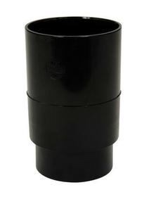 Manchon PVC femelle femelle pour tube de descente de gouttière diam.80mm coloris noir - Gedimat.fr