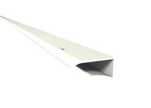 Prolifé de petite finition pour habillage de plaquette de débord de toit Nicoll Belriv long.4m coloris blanc - Gedimat.fr