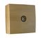 Prise télévision série BEL'VUE pour pose en saillie connexion mâle diam.9,52mm coloris hêtre - Gedimat.fr