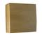Boîte de dérivation électrique série BEL'VUE pour pose en saillie coloris hêtre - Gedimat.fr